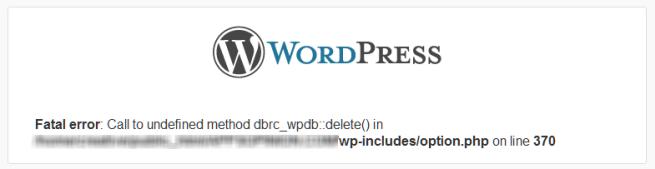 解决升级到wordpress3.4后发生的错误
